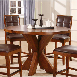 How to paint wood floors and pick the right wood paint for Small wooden dining table set