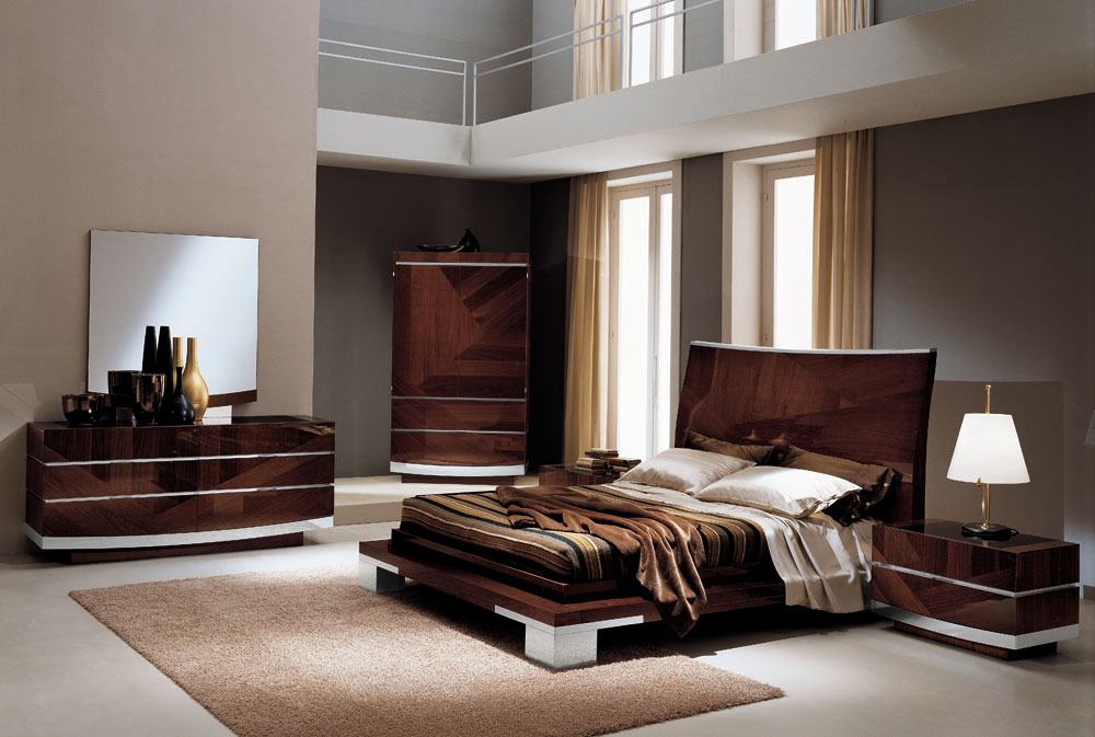 Italian design wooden bedroom sets product recommendations for Bedroom furnishing designs