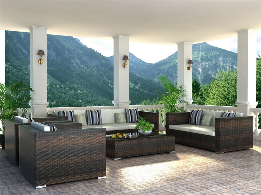 steel outdoor furniture